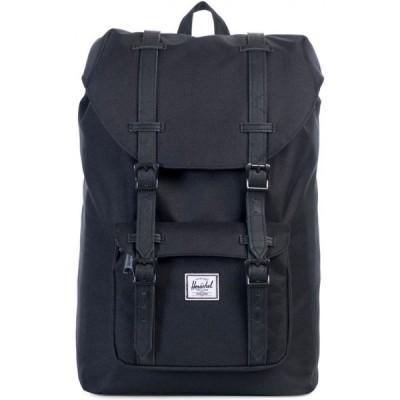 ハーシェル サプライ Herschel Supply Co. メンズ バックパック・リュック バッグ Herschel Little America Backpack Black/black/Synthetic/Leather