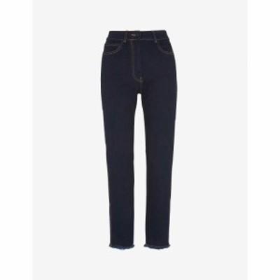 ホイッスルズ WHISTLES レディース ジーンズ・デニム ストレッチ デニム ボトムス・パンツ Slim-Fit Stretch-Denim Jeans DARK DENIM
