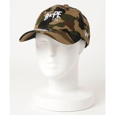 帽子 キャップ 1ST CAMO BAPE STA NEW ERA PANEL CAP M