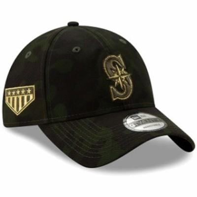New Era ニュー エラ スポーツ用品  Seattle Mariners New Era 2019 MLB Armed Forces Day 9TWENTY Adjustable Hat - Camo