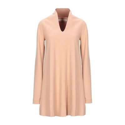 リビアナ コンティ LIVIANA CONTI ミニワンピース&ドレス キャメル 38 レーヨン 68% / ナイロン 27% / ポリウレタン 5