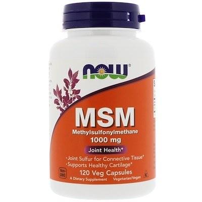 MSM, メチルスルホニルメタン、1,000mg、ベジカプセル120錠