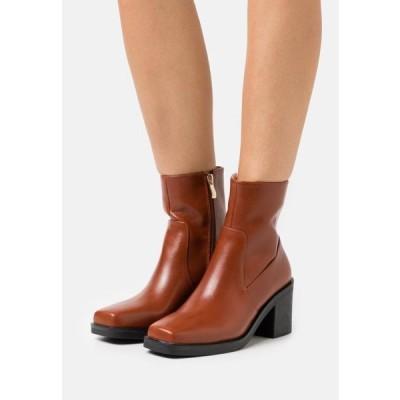レディース 靴 シューズ ZERRIN - Classic ankle boots - tan