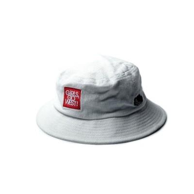 帽子 ハット 【FRUIT OF THE LOOM/フルーツオブザルーム】 FTL x ANNA CORDUROY BUCKET HAT/アンナマガジ