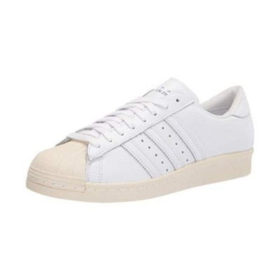adidas Originals Mens Superstar 80s Recon Leather Sneakers White 8.5 Medium (D)