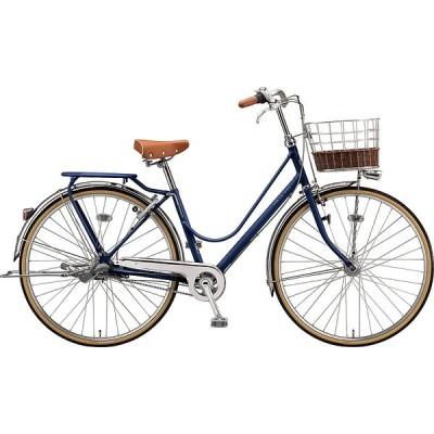 【防犯登録サービス中】送料無料 ブリヂストン 自転車 カジュナ ベ-シック DX CAB7TP E.Xアメリカンブルー