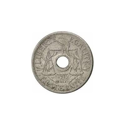 金貨 銀貨 硬貨 シルバー ゴールド アンティークコイン [#81244] FRANCE, 25 Centimes, 1913, AU(55-58),