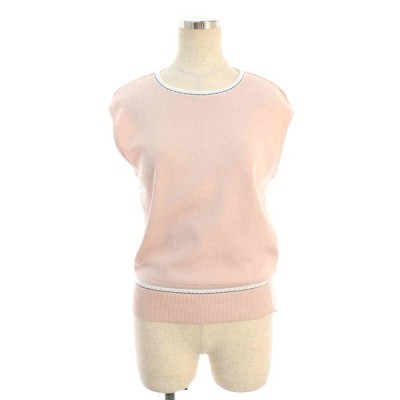 フォクシーブティック ニット セーター 35858 Sleeveless Knit Chouquette ノースリーブ 40