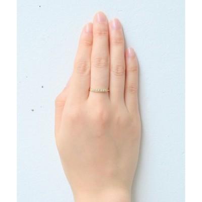 指輪 【K10】スワン・パールリング