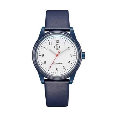 [シチズン Q&Q] 腕時計 アナログ スマイルソーラー リンクコーデ 防水 革ベルト RP26-001 ブルー