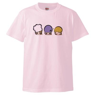 トリプルアジーン(Tシャツ)(カラー : ライトピンク, サイズ : XL)