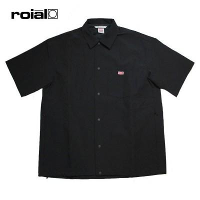 ROIAL,ロイアル/21SP/半袖シャツ/COORS・R101MSU03/BLACK・ブラック/メンズ/ストレッチ/軽量/接触冷感/遮熱/吸水速乾/UPF50+