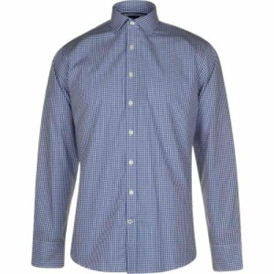 Westend By Simon Carter メンズ シャツ トップス westend 3 coloured gingham shirt Blue