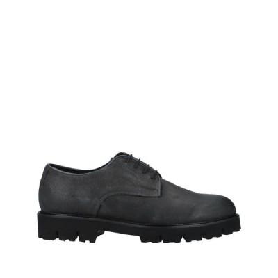 ボッテガ マルキジャーナ BOTTEGA MARCHIGIANA メンズ シューズ・靴 laced shoes Lead