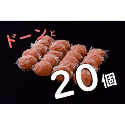 EK001_佐賀牛入り熟成生ハンバーグ 20個