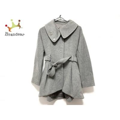 パトリツィアペペ PATRIZIA PEPE コート サイズ40 M レディース 美品 - グレー 長袖/冬   スペシャル特価 20210107