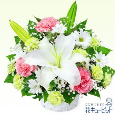 お供え・お悔やみの献花 仏花 供花 法要 枕花 お盆 お彼岸 花キューピットのお供えのアレンジメント