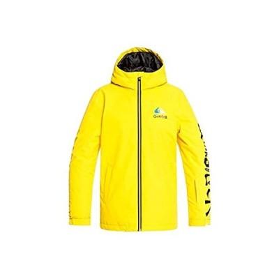 特別価格Quiksilver In The Hood Snowboard Jacket Kids Sz L (12) Sulphur好評販売中