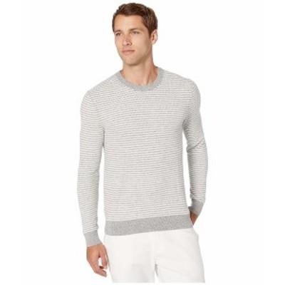 マイケルコース メンズ ニット&セーター アウター Zigzag Stripe Crew Sweater Heather Grey