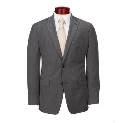 ムラノ メンズ ジャケット&ブルゾン アウター Big & Tall Wardrobe Essentials Classic-Fit Suit Separates Twill Blazer Charcoal