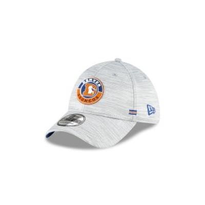 ニューエラ レディース 帽子 アクセサリー Men's Denver Broncos On-Field Sideline 39THIRTY Cap Gray