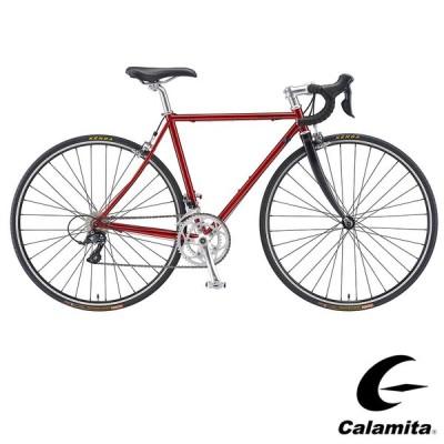 STI搭載  Calamita due+(カラミタ デュエ+) カラー:キャンディレッド ロードバイク  送料プランC 23区送料2700円(注文後修正)