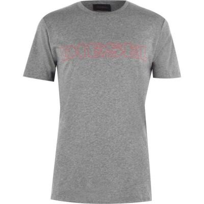 ディーゼル Diesel メンズ Tシャツ トップス Tee Grey X