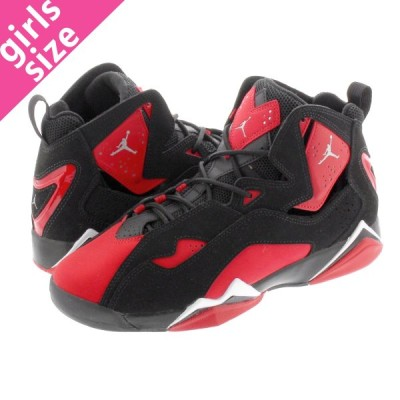 NIKE JORDAN TRUE FLIGHT GS ナイキ ジョーダン トゥルー フライト GS BLACK/CHROME/UNIVERSITY RED cu4934-001