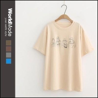 ブラジャー レディース フラワー ルームウェア Tシャツ ゆったり ゆとり 綿 インナー 重ね着 快適 カットソー  おしゃれ ワンピース 綿 綿10