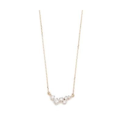 Adina Reyter Women's 14k Gold Scattered Diamond Necklace, Gold, One Si