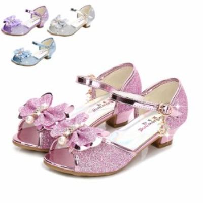 子供靴 フォーマル シューズ キッズ サンダル 女の子 ジュニア パンプス 子供用 シューズ ピアノ発表会 結婚式 子ども靴 フォーマル スポ