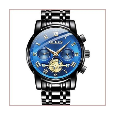 OLEVS Men's Watches Waterproof Luminous Watches for Men Quartz Watches Sports Chronograph Multifunction Wrist Watches