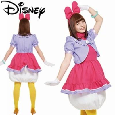 ハロウィン 仮装 ディズニー コスチューム 大人 レディース 衣装 フォーマル デイジー Adult Daisy 37016 コ