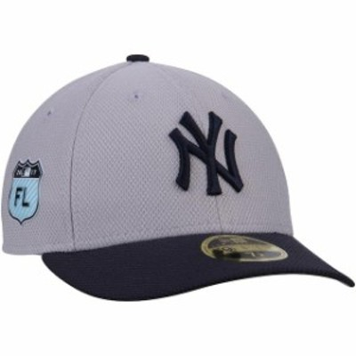 New Era ニュー エラ スポーツ用品  New Era New York Yankees Gray 2017 Spring Training Diamond Era Low Profile 59FIFTY Fitted Hat