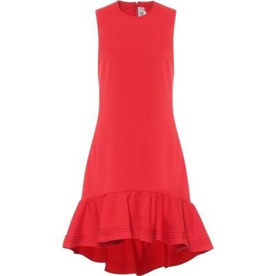 ヴィクトリア ベッカム Victoria Victoria Beckham レディース パーティードレス ミドル丈 ワンピース・ドレス Crepe midi dress Postbox Red
