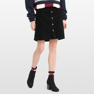 【公式】トミーヒルフィガー コーデュロイAラインスカート