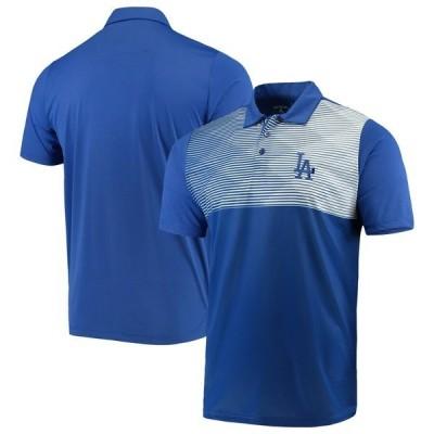 アンティグア メンズ ポロシャツ トップス Los Angeles Dodgers Antigua Tactic Polo