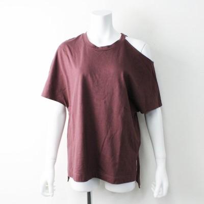 【サマーセール】Lui's FEMME ルイス ファム 肩出シ カットソー TOPS Free/ブラウン系 Tシャツ 2400011821720