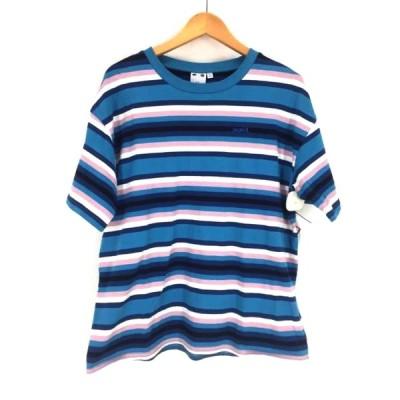 エックスガール X-girl STRIPED RELAX S/S TEE クルーネックTシャツ レディース S 中古 201206