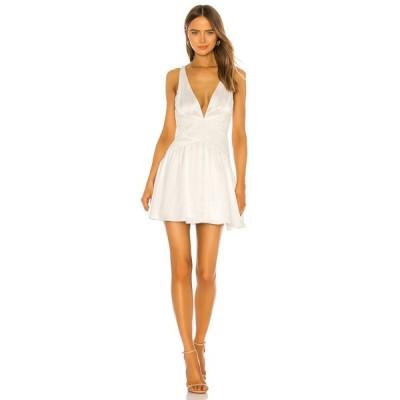 マイケル コステロ Michael Costello レディース ワンピース ミニ丈 ワンピース・ドレス x REVOLVE Sia Mini Dress White