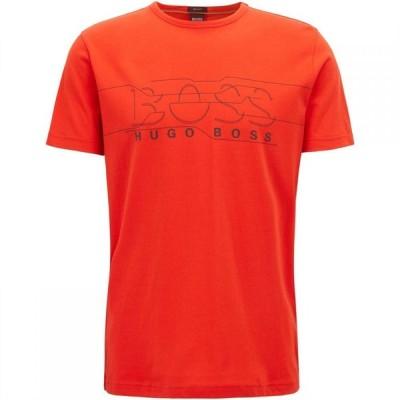 ヒューゴ ボス Boss メンズ Tシャツ トップス Tee 1 Dark Orange