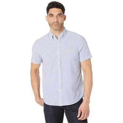 ラルフローレン メンズ シャツ トップス Classic Fit Seersucker Shirt