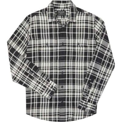 フィルソン Filson メンズ シャツ トップス Scout Shirt Black/Cream