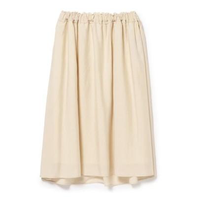 スカート Demi-Luxe BEAMS / ウエストギャザー スカート
