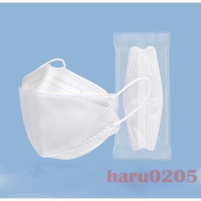KF94 マスク 子供用 大人用 親子 4層構造 柳葉型 個包装 50枚入 可愛い 動物柄 不織布 息しやすい 韓国風 白 黒 男の子 女の子 3D 立体マスク