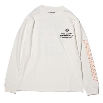 アトモス atmos 長袖Tシャツ サプライヤー ロングスリーブ ティー (WHITE) 20FA-I