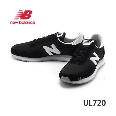 ニューバランス NEWBALANCE UL720 スニーカー シューズ 靴 ランニング スポーツ 街履き ユニセックスモデル カラー:BLACK