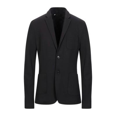 OBVIOUS BASIC テーラードジャケット ブラック 52 レーヨン 68% / ナイロン 27% / ポリウレタン 5% テーラードジャケット