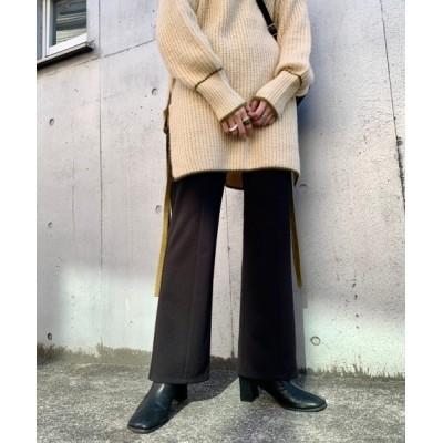 Kastane / 【NEW】イージーカラーフレアパンツ WOMEN パンツ > スラックス