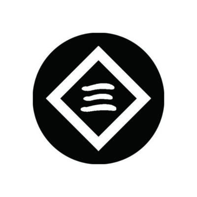 家紋シール 白紋黒地 側折敷に三文字 布タイプ 直径40mm 6枚セット NS4-2137W